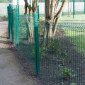 pvc coated curved 3d wire mesh fence