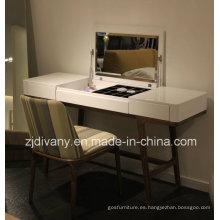 Aparador mesa de madera de estilo moderno italiano