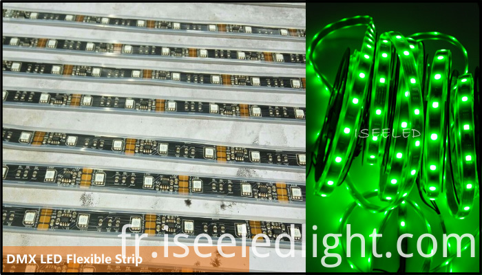 RGB DMX512 LED Rope Flexible