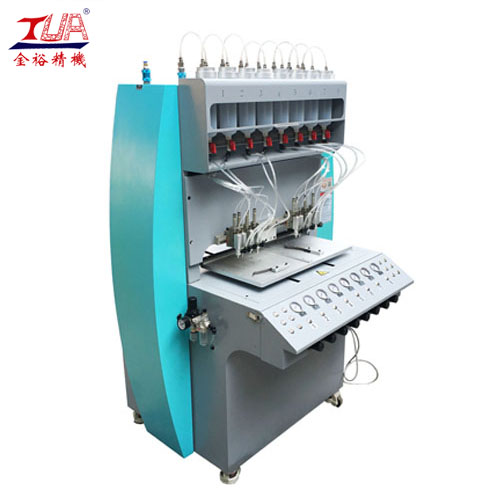 Speed ​​PVC Zipper Head Glue Dispensing Machine