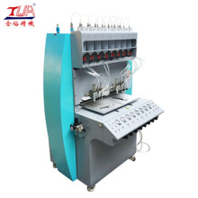 China for Pvc Badge Dispensing Machine Full Automatic 8 Needles Plastic Dispensing Equipment supply to United States Manufacturer