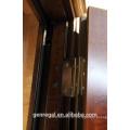 Luxo madeira Matt grão super forte porta de segurança de aço