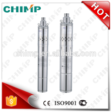 "2"" 3"" 4""QGD screw submersible underwater electric borehose clear water oil filled motor single phase pumps CHIMP"