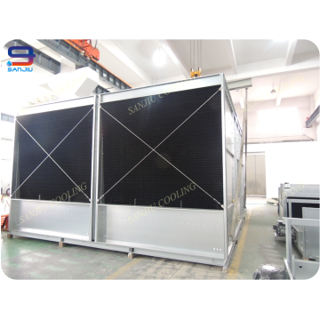 322 Tonhöhe Effizienz und lange Lebensdauer Stahlbau Offener Kühlturm