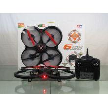2014 nuevo producto 2.4G 4CH 6 ejes con luz LED RC Quadcopter helicóptero 836