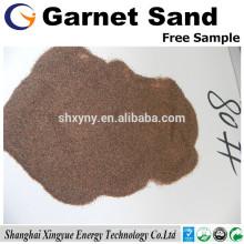 Approvisionnement en usine haute dureté grenat sable dynamitage 30/60 mesh