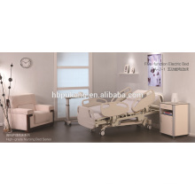 five-function electric nursing medical bed for hospital