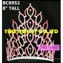 fashion crystal pageant tiaras