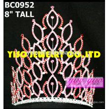Модные кристальные конкурсы тиары