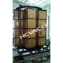 Wall Tiles Golden PVD Coating Machine/Ceramic Cups Gold Vacuum Coating Machine