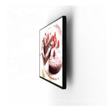"""Maken 27"""" 32"""" 43"""" 49"""" lcd digital advertising display wall mount digital signage for cafe restaurant kitchen"""