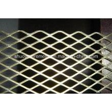 Malla metálica expandida de acero inoxidable galvanizado arquitectónico