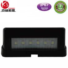 Ltl25b impermeable portamatrículas luz luz LED trasera para camión Trailer