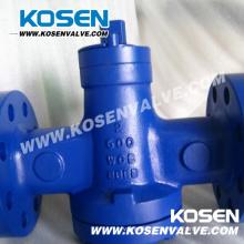 Pressão equilibrada válvulas de plugue dura do selo (X47)