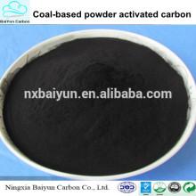 purification de l'eau chimique poudre de charbon actif prix