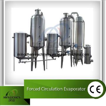 Evaporador de cristalización de circulación forzada