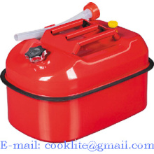 Horizontal Jerry Can Gasoline Fuel Emergency Backup Gas Tank 20L