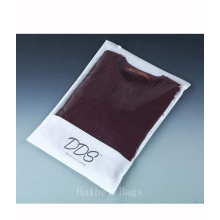 Transparent CPP Non-Woven Garment Packaging Bag, Zipper Packing Bag