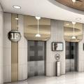 Energia luxuosa da decoração da cabine do elevador de passageiro