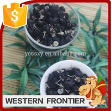 Сладкий вкус и мушмула нового урожая сушеных черных ягод ягод