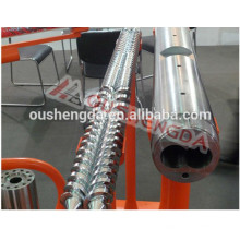 Sumitomo alloy steel parallel twin screw barrel for PVC pipe