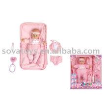 906031551 boneca real para o bebê, boneca bonita, conjunto de boneca