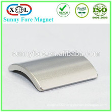 customized motor neodymium curved magnets