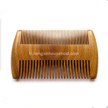 100% Natural Sandal Wood Half Wide Peigne