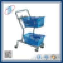 Metro Supermarket cargo trolley
