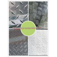 nueva oferta especial 1030 1050 3003 5052papel de aluminio embebido