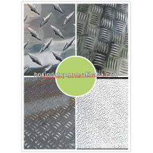diamond pattern aluminium sheet/plate in stock