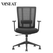 China Büromöbel Großhandel hochwertiger Stahl Bürostuhl Mesh Stuhl mit Armlehne