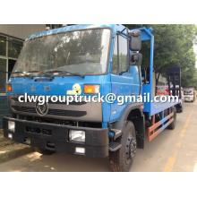 Dongfeng Flatbed Tow Truck For Forklift Transportation