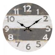 Grijs en wit antieke klok