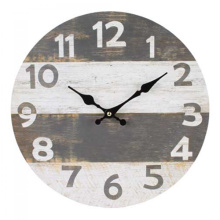 Antique Gray and white clock
