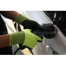 Вырезать устойчивость работы перчатку с Сэнди нитрил (ND8061)