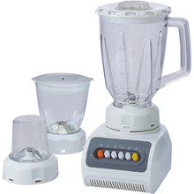 Push Button Plastic Container Vegetable Chopper Blender