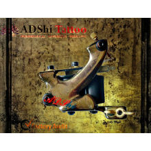 Estilo vintage 4-9V bajo inicio de voltaje de calidad superior Damasco máquina de tatuaje para Shader
