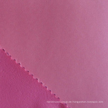 Polyester Foam Backing Satin Stoff