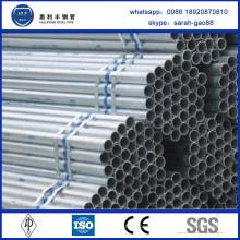China Factory vend le tuyau et tube rectangulaire pré-galvanisé de haute qualité