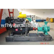 Bomba de água diesel com descarga 100-400m3 / h