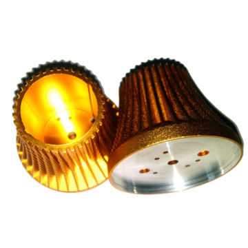 Custom Plated Aluminium LED Body Die without source