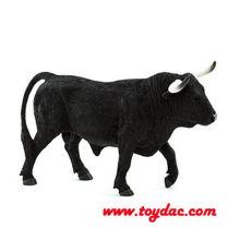 Buffle de vache noire sauvage en peluche