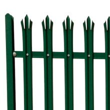 Commercial Industrial Galvanized Steel Picket Fence