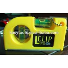 magnetic pocket level clip spirit level