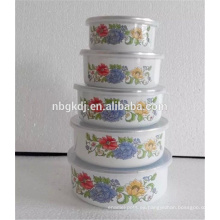 Material esmaltado de porcelana y recipiente de mezcla de hielo certificación SGS