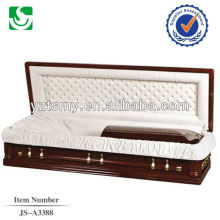 Customized qualified high standard full couch casket