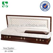 Caixão personalizado qualificado alto padrão completo sofá