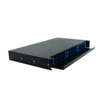 1U 19 Polegada SC 24 Port Patch Panel