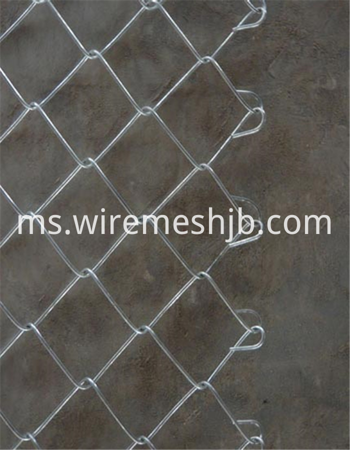 Galvanized Diamond Wire Mesh